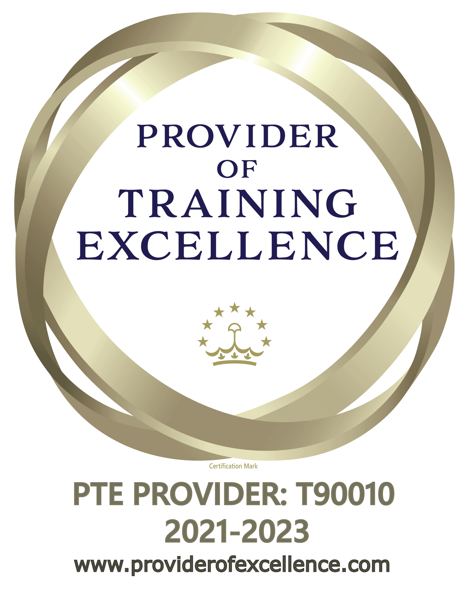 Provider of Training Excellence logo