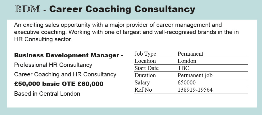 Coaching Job 4